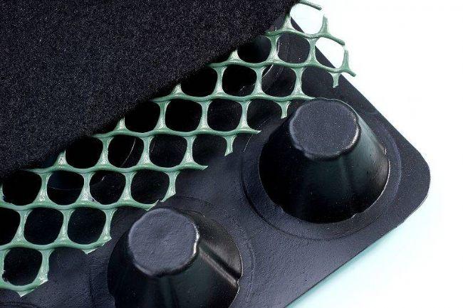 复合排水板(土工网+土工布+塑料排水板)