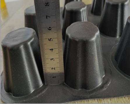 塑料排水板高度测量