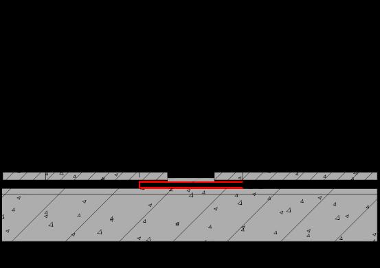 地下室顶板底板排水板施工中墙体处做法施工图