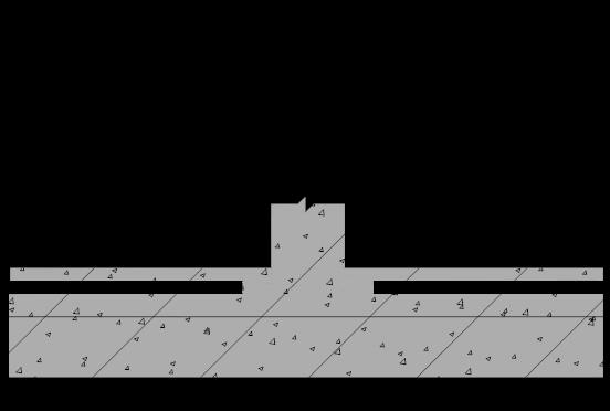 地下室排水板施工中人防抗爆墙处施工图