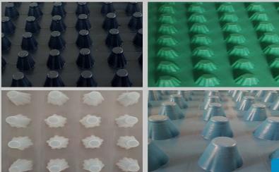 山东共建品牌塑料排水板外观展示,方便买家了解
