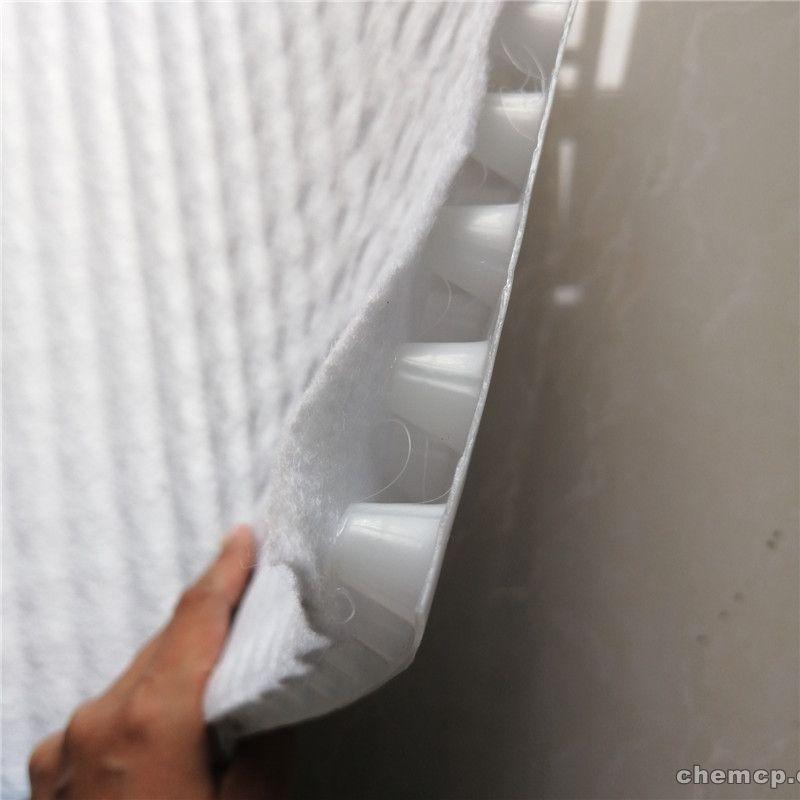 白色国标复合排水板展示