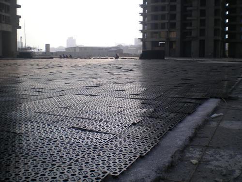 蓄排水板施工