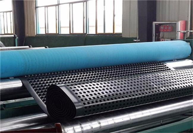 排水板厂家正在生产20高排水板