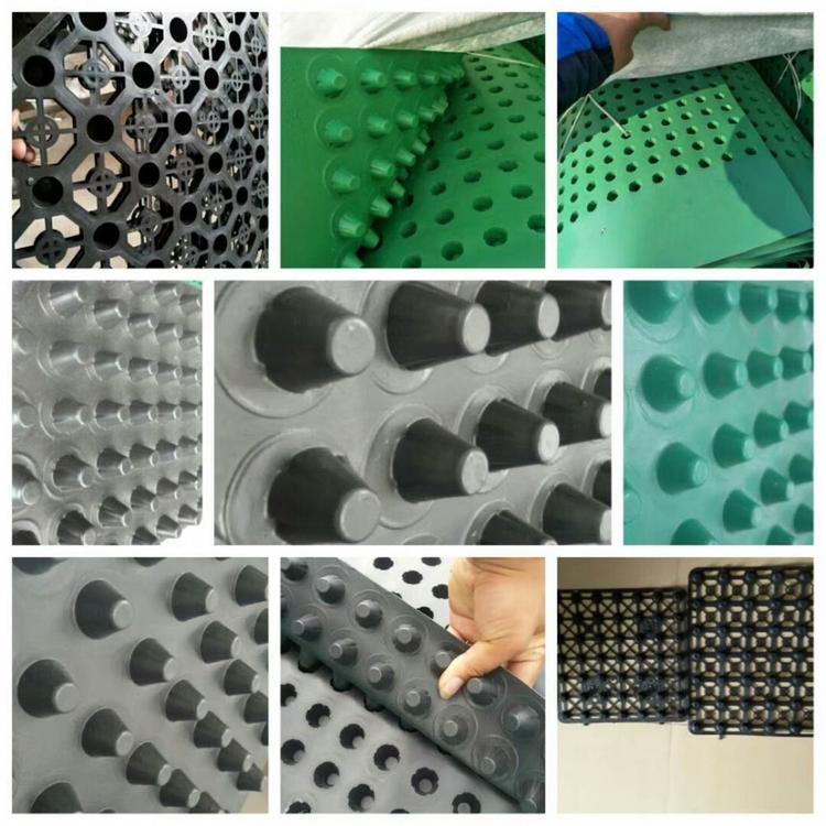 山东排水板厂家展示不同价格区的排水板