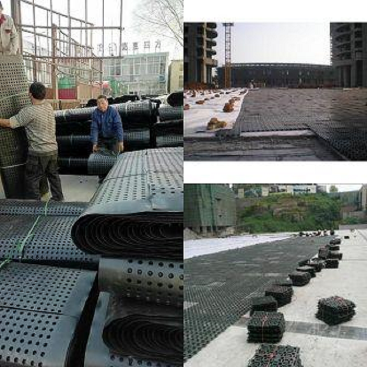 山东排水板厂家产品销往各地,客户反馈图