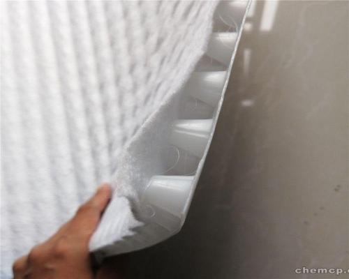 复合排水板【山东共建厂家 土工布排水板复合】